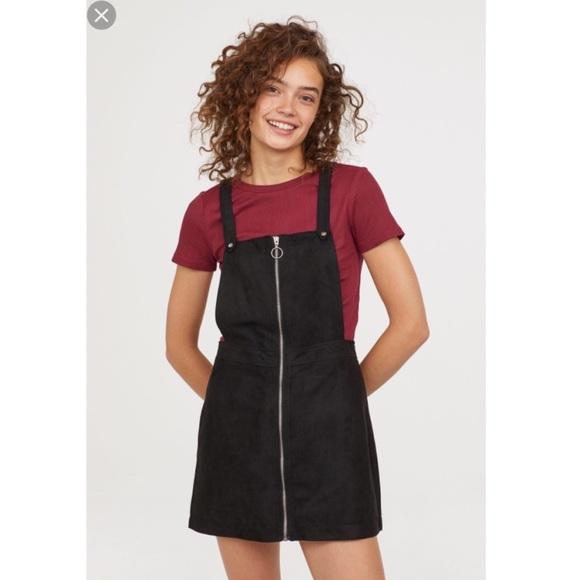 e7163116732f H&M Dresses | Pull Ring Zipup Pinafore Dress | Poshmark